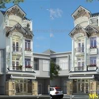 Thiết kế nhà 3 tầng mặt tiền 5m đẹp sáng chói luôn!