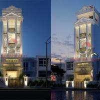 Thiết kế nhà đẹp Kiến An Vinh Q.12, Hồ Chí Minh, Việt Nam